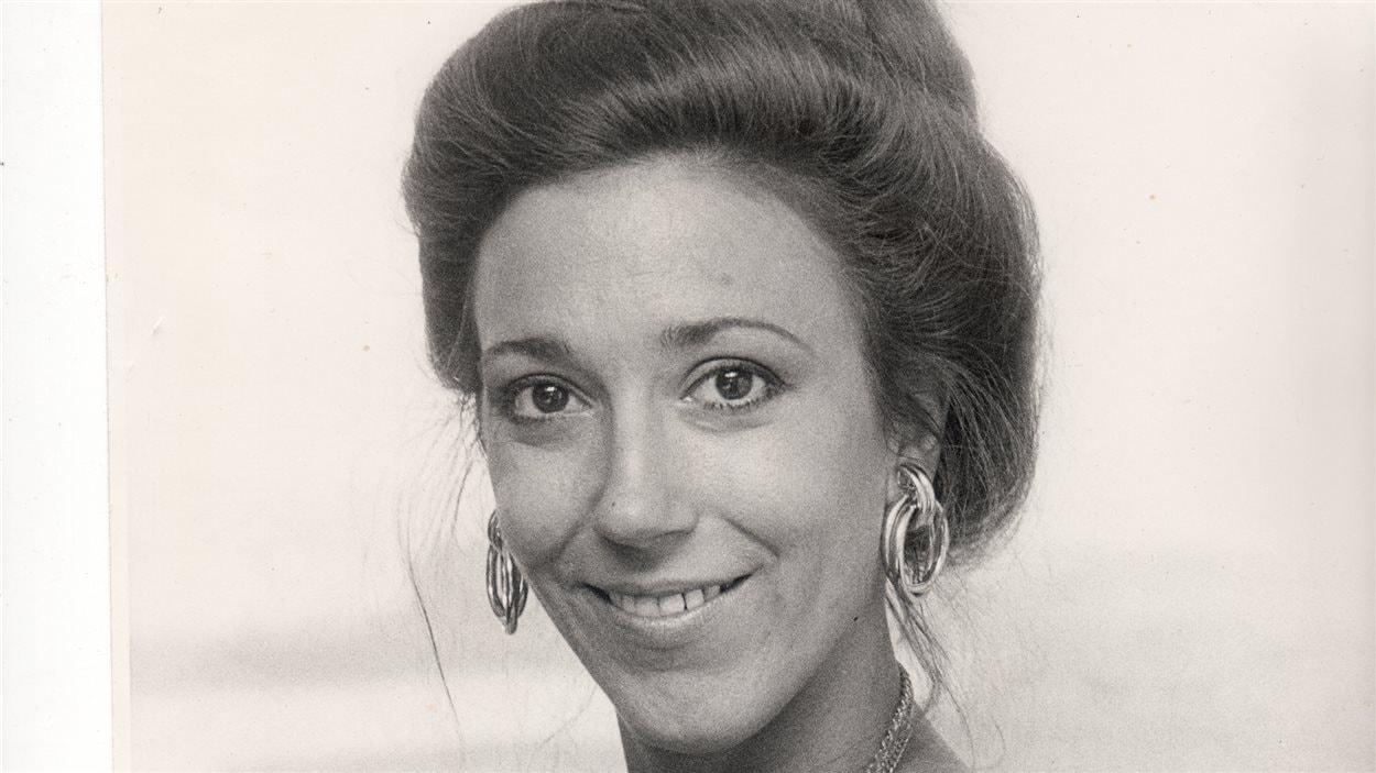 Francine Grimaldi, au cours des années 1970