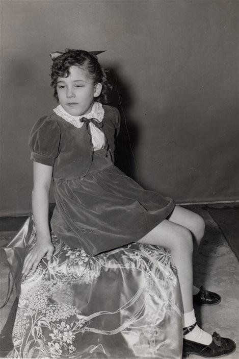Francine Grimaldi, durant son enfance