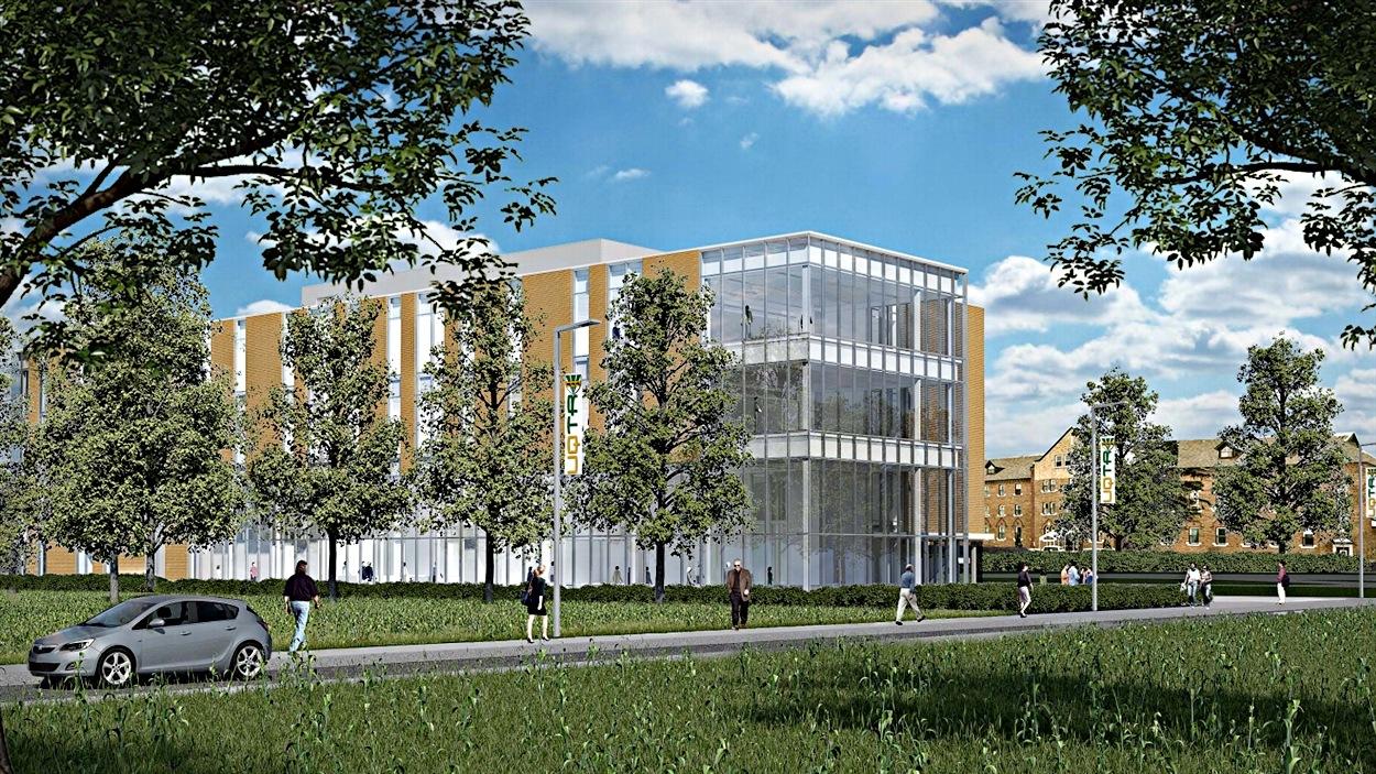 Futur pavillon de l'UQTR à Drummondville