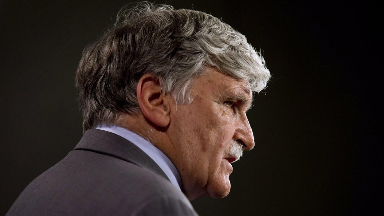 Le lieutenant-général à la retraite Roméo Dallaire