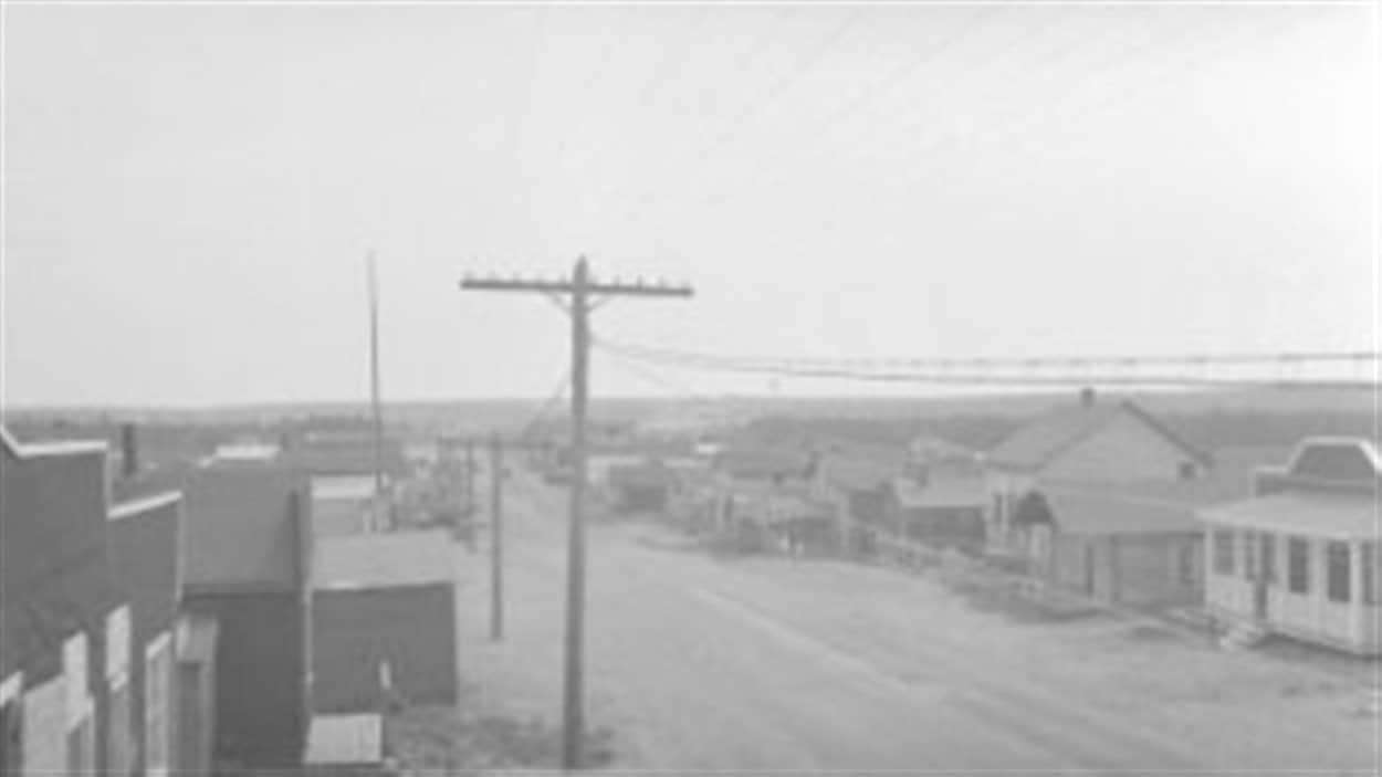 Vue du village de Roc-d'Or / Edmond Pouliot . - 1942