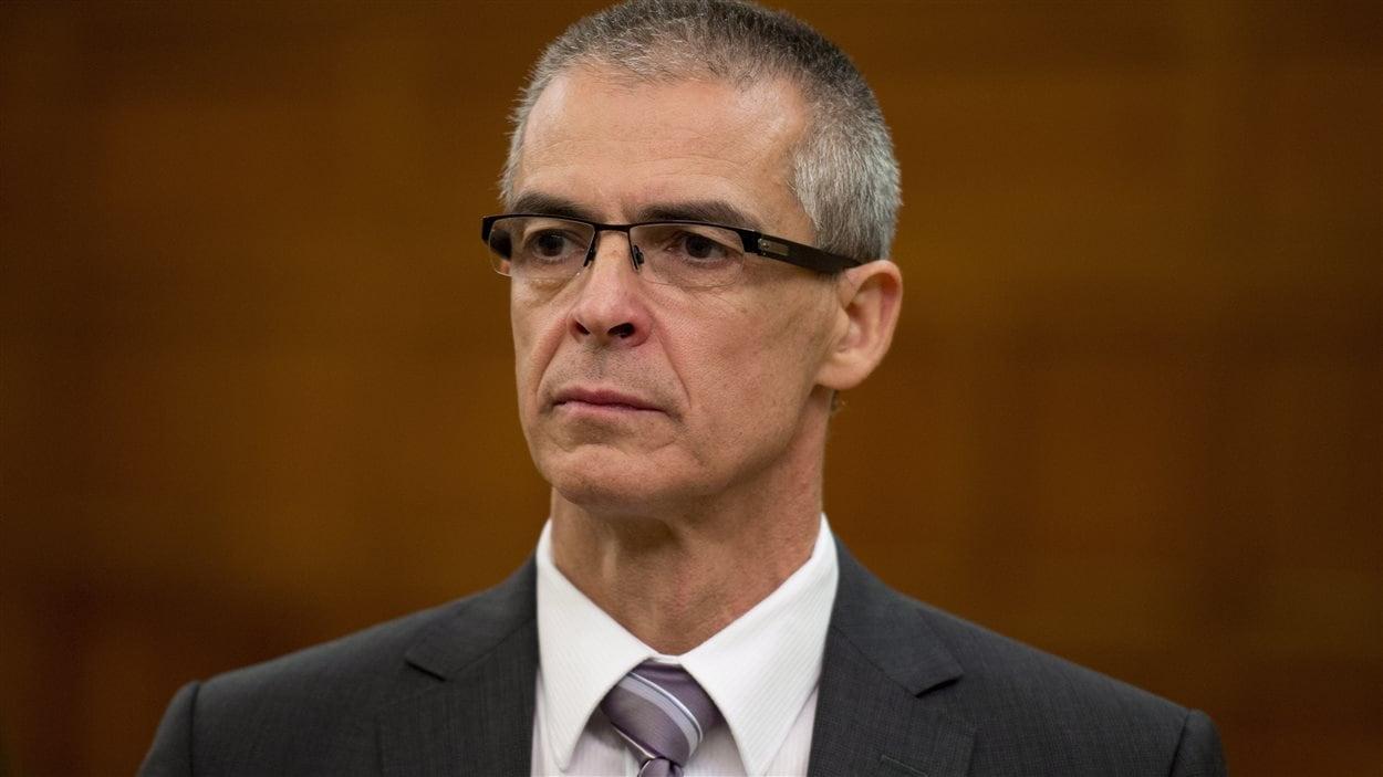 Le directeur du Service canadien du renseignement de sécurité, Michel Coulombe.