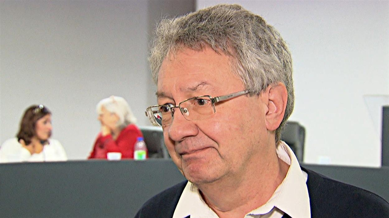 François Saillant, coordonnateur du FRAPRU. (09-10-!4)