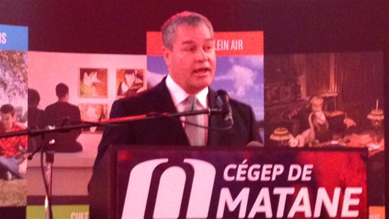 Le ministre Yves Bolduc a annoncé que le CDRIN de Matane est maintenant reconnu comme étant un CCTT.