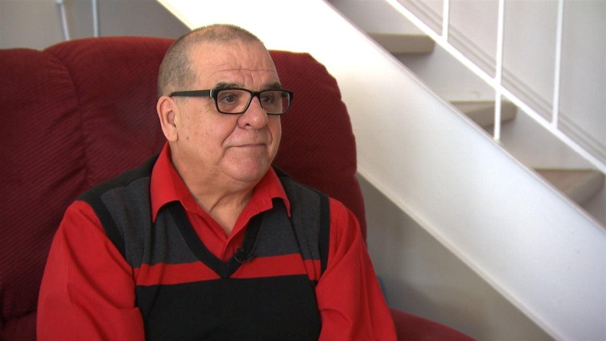 Jean Poulin, ancien résident de Gagnon