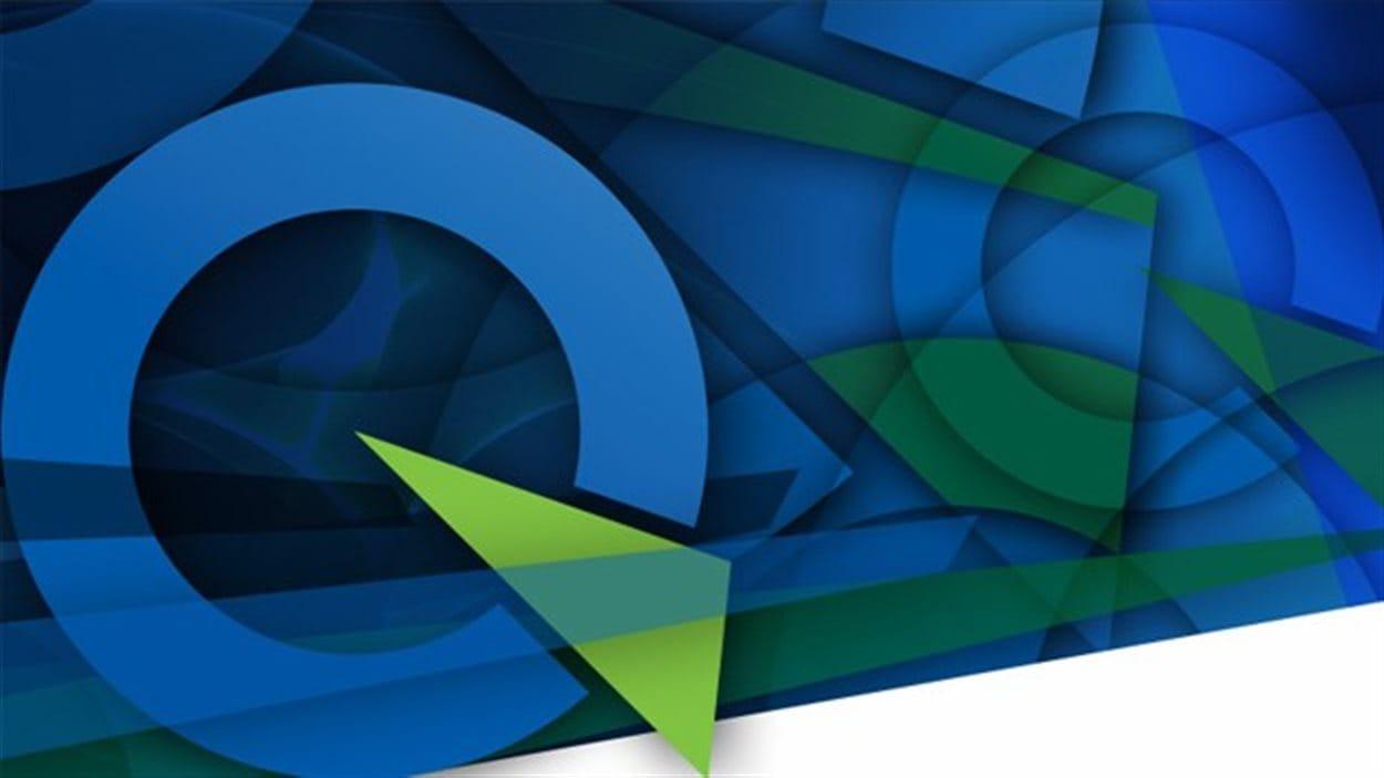 Logo stylisé du Parti québécois