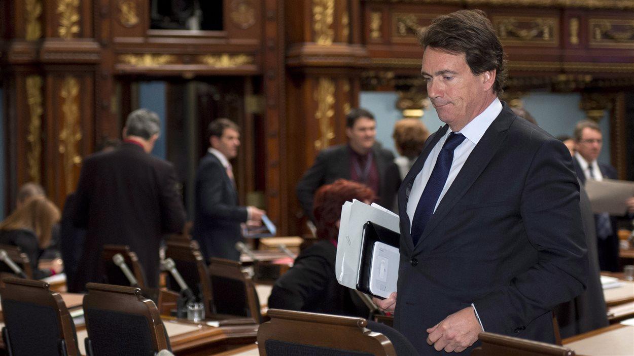 Le député péquiste Pierre Karl Péladeau