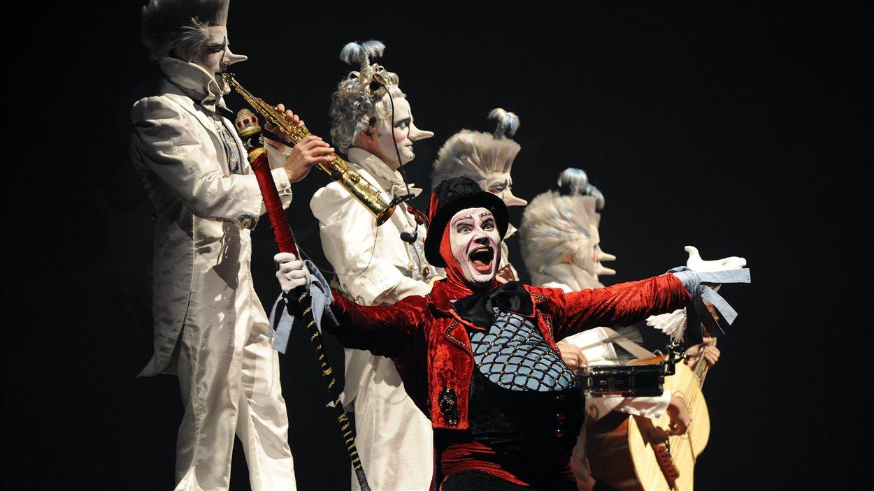 Le spectacle «Alegria» du Cirque du soleil
