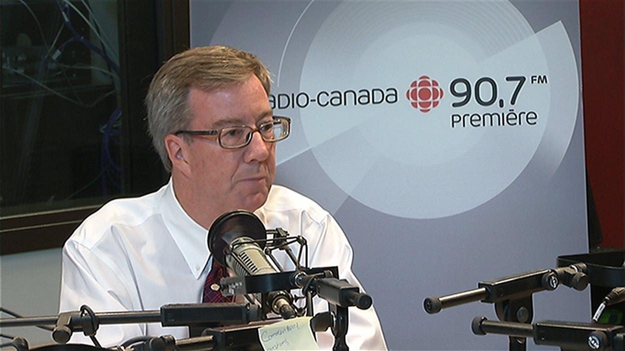 Le maire d'Ottawa Jim Watson était en entrevue ce matin avec Carl Bernier.