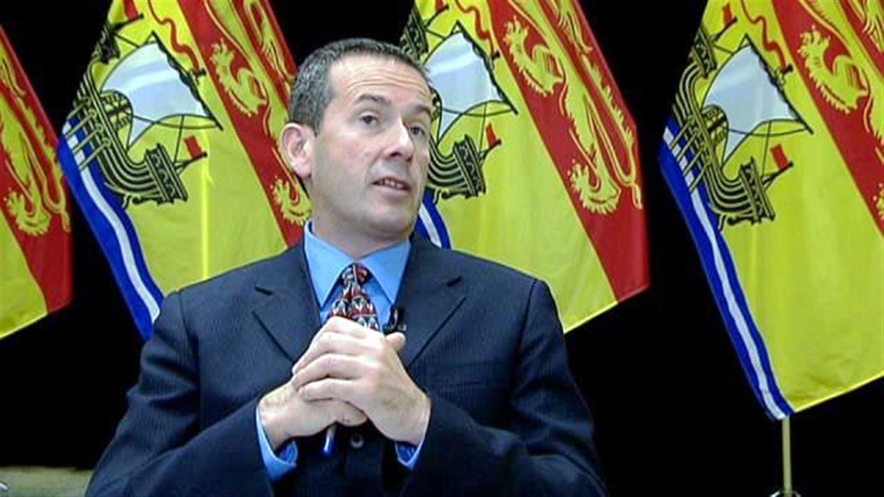 Le ministre de l'Éducation et du Développement de la petite enfance du Nouveau-Brunswick, Serge Rousselle.