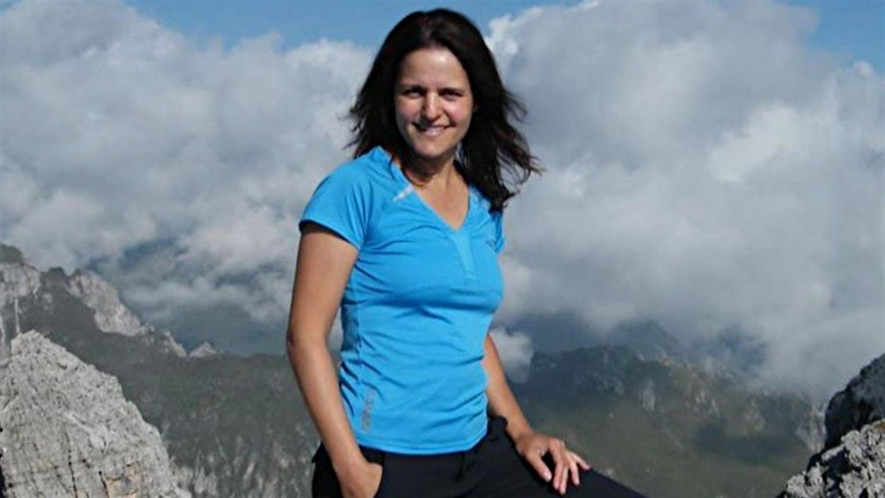 Sonia Lévesque, randonneuse québécoise, était du groupe qui a été touché par une avalanche meurtrière au Népal.