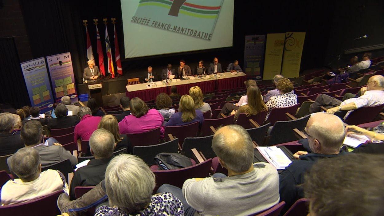 Assemblé générale annuelle de la Société franco-manitobaine.