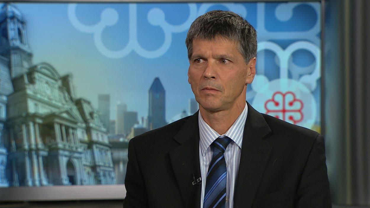 André Émond, président du Syndicat professionnel des scientifiques à pratique exclusive de Montréal