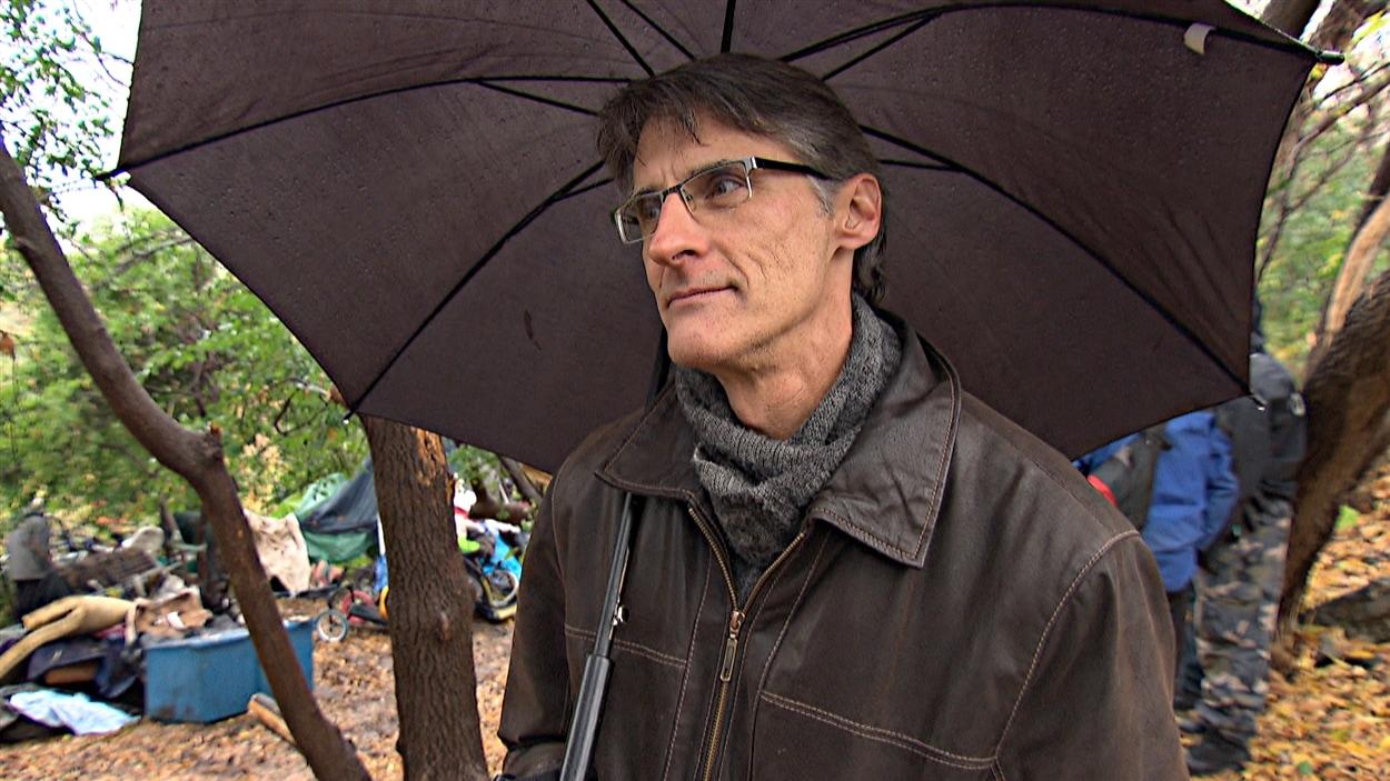 Daniel St-Jean, directeur de Droit-Accès Outaouais (21-10-14).