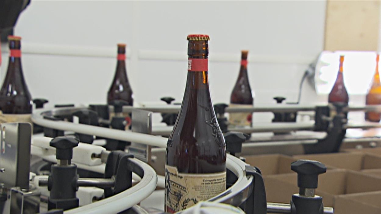 Bières de la microbrasserie Le Trou du diable