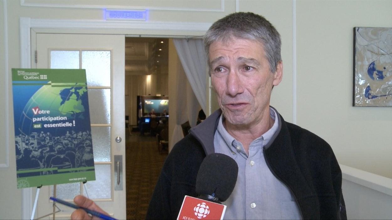 Guy Garand, DG du Conseil régional de l'environnement de Laval.