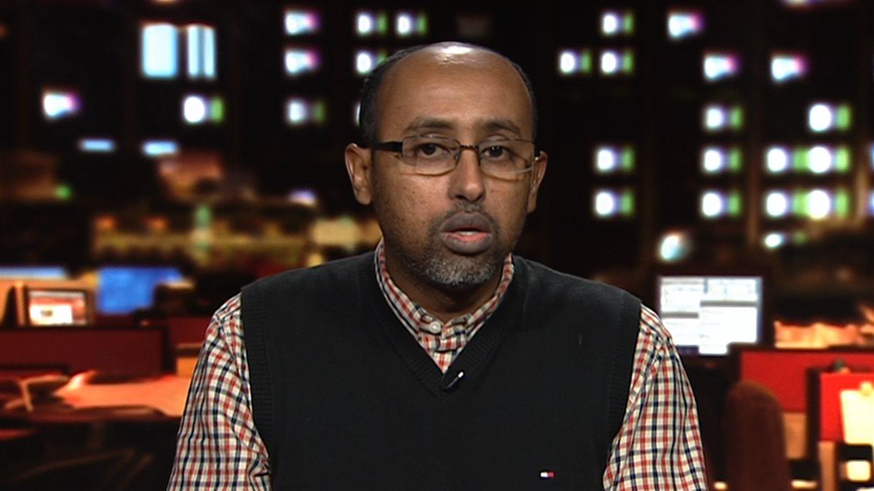 Abdourahman Kahan, porte-parole de Présence musulmane Canada