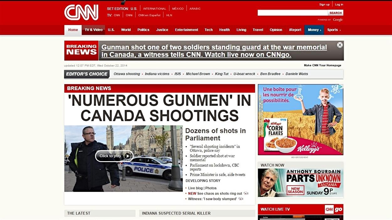 CNN, États-Unis