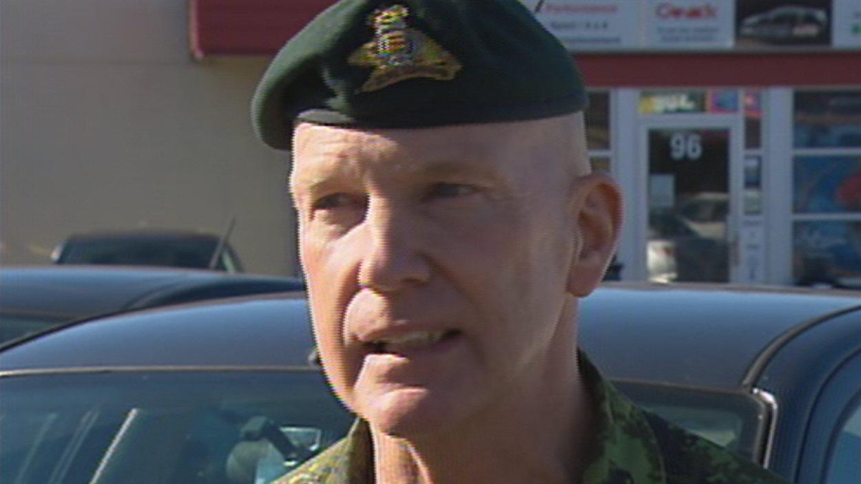 L'adjudant maître André Demers ne portera pas son uniforme en ville.