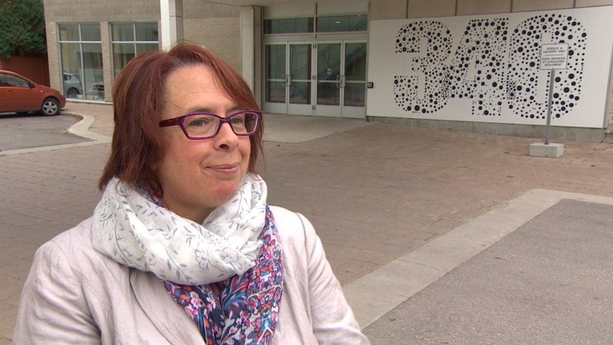 La directrice générale du Centre culturel franco-manitobain, Sylviane Lanthier, était à Ottawa au moment des incidents.