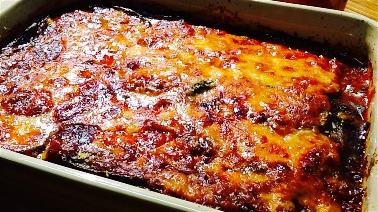 Aubergines alla parmigiana