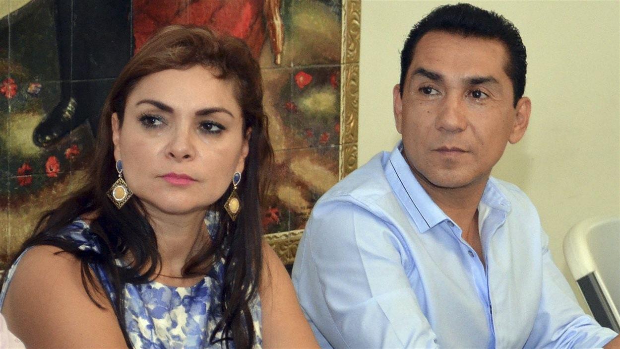 Le maire d'Iguala Jose Luis Abarca et sa femme (photo) sont liés au cartel des Guerreros Unidos, que les autorités accusent d'avoir fait disparaître les étudiants. (archives)