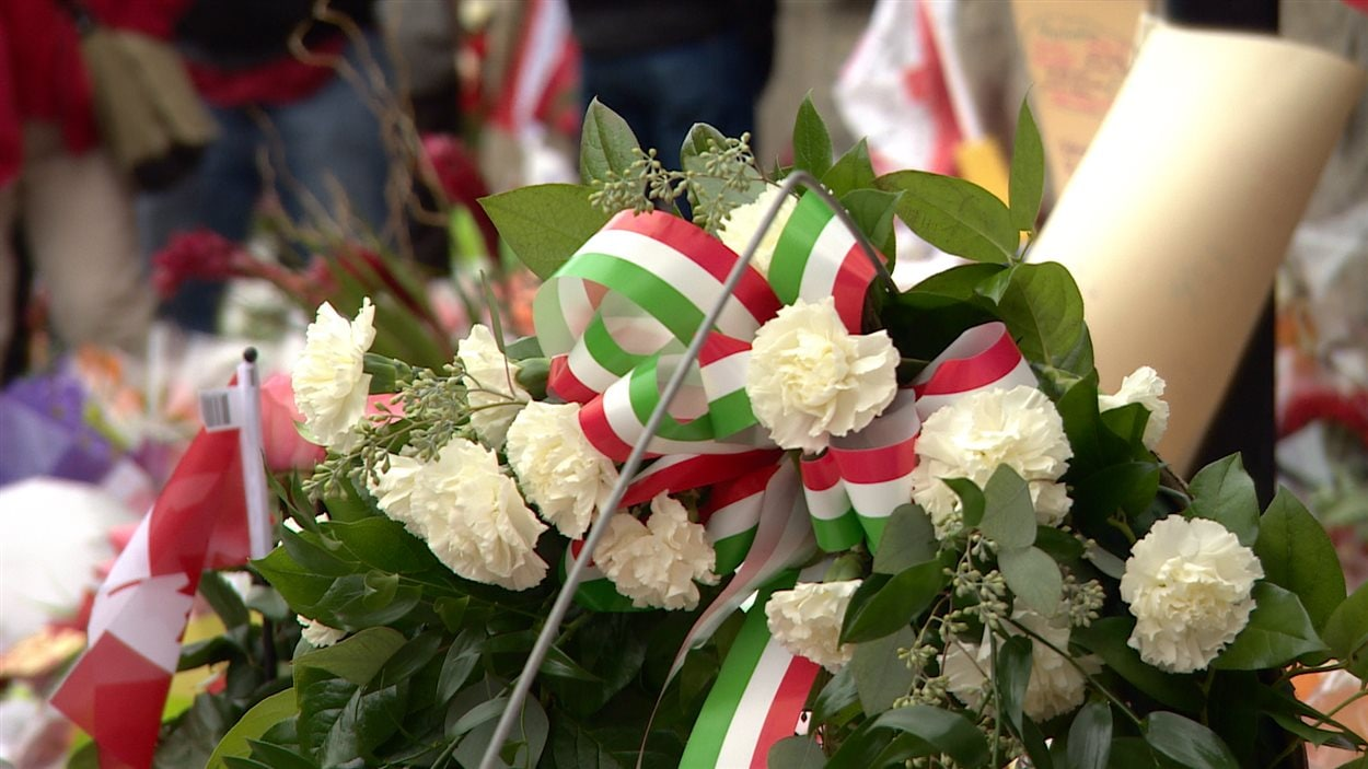 Hommages au caporal Nathan Cirillo