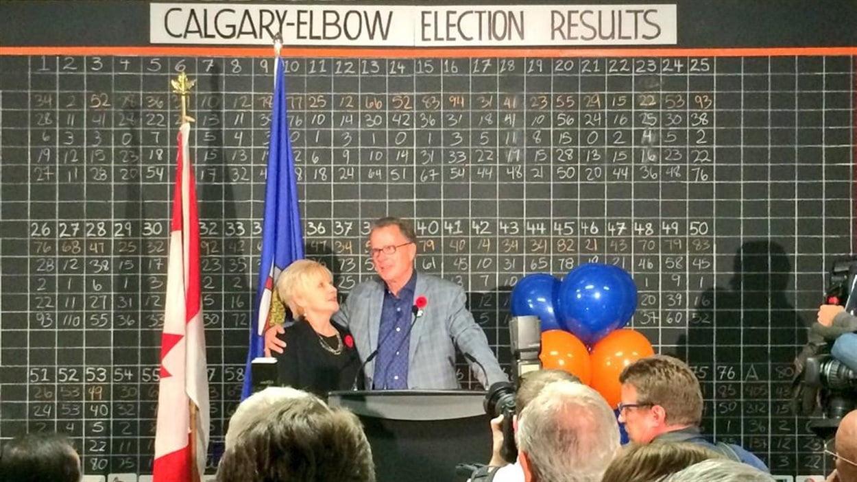 Gordon Dirks remporte la circonscription de Calgary-Elbow