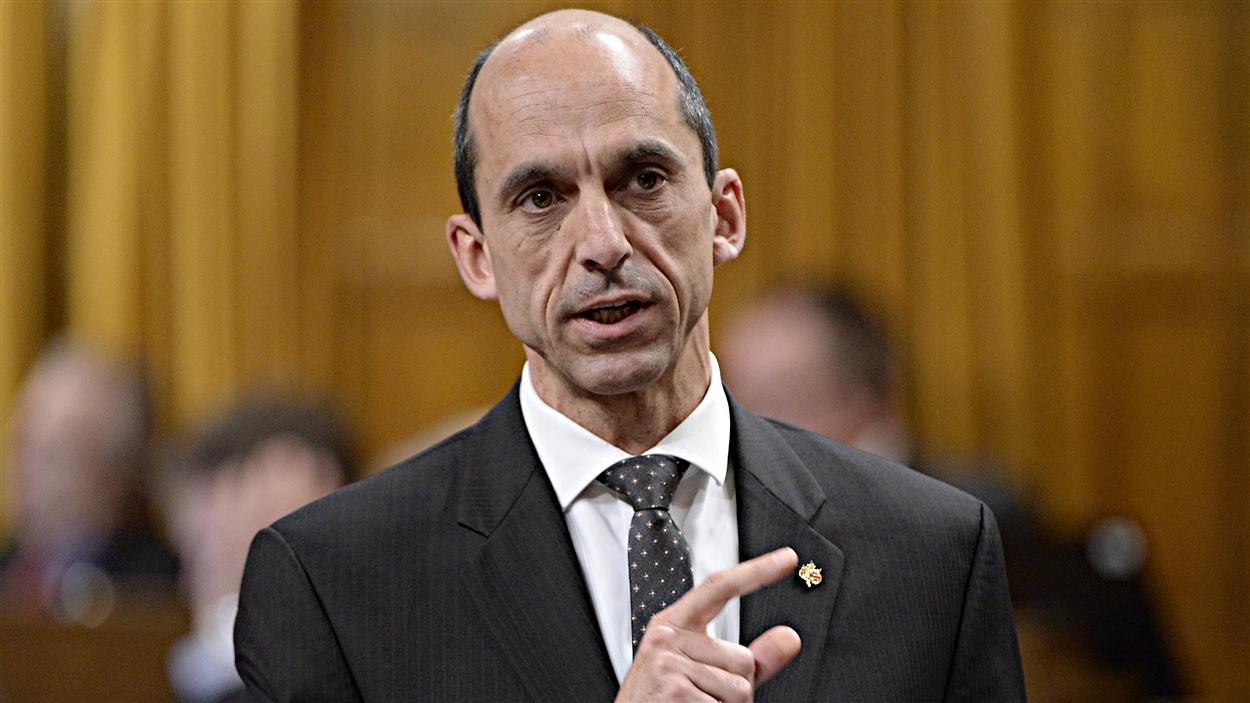 Steven Blaney, ministre fédéral de la Sécurité publique
