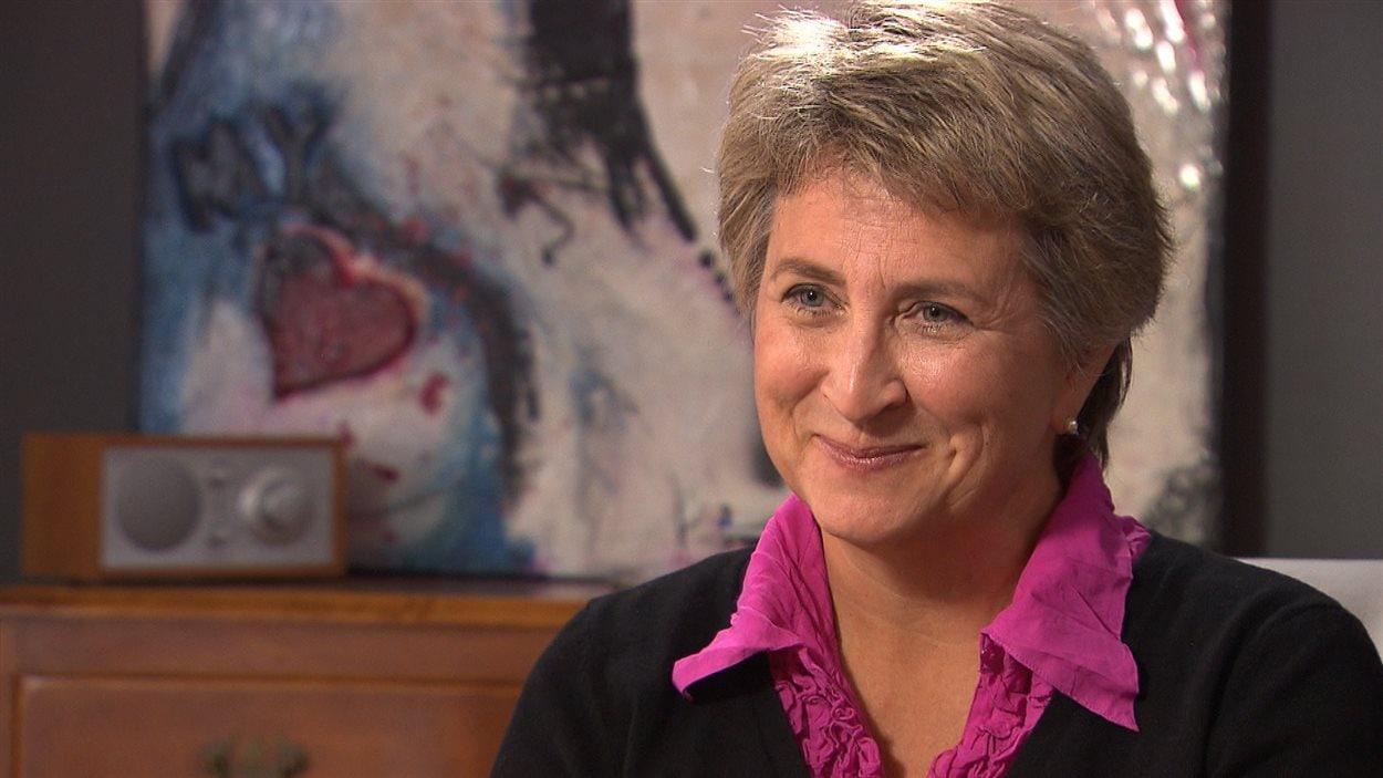 La journaliste Sophie Langlois, de retour de Guinée.