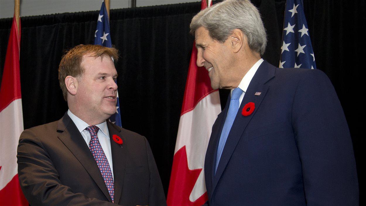 John Kerry et John Baird