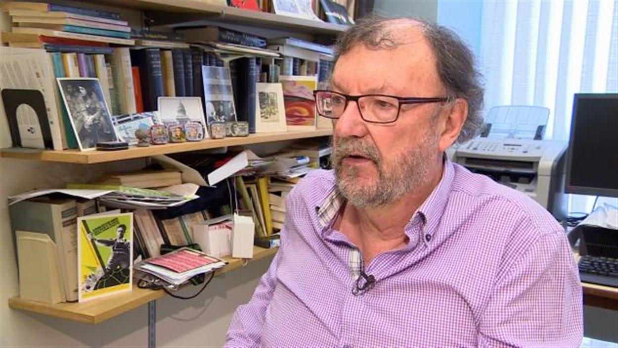 Len Findlay, prof. à l'U. de la Saskatchewan et porte-parole de l'ACPPU, veut que les Instituts Confucius soient expulsés des campus de la province.