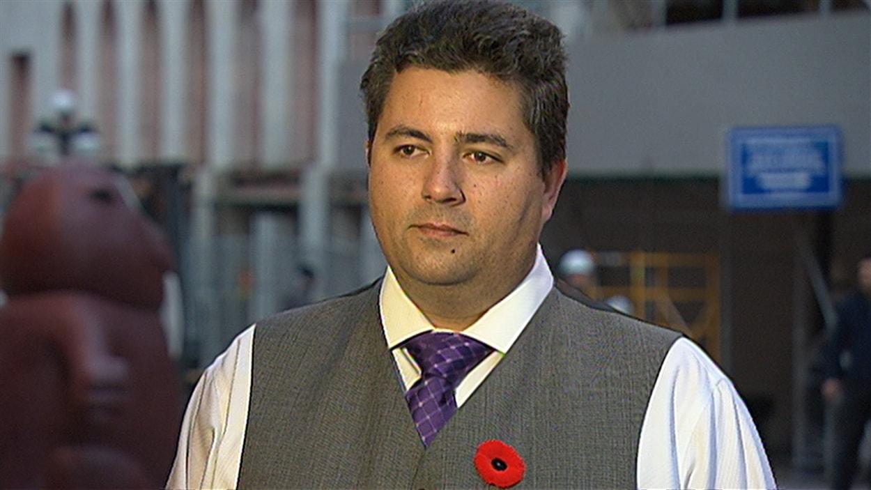 Le député néo-démocrate de Scarborough-Sud-Ouest, Dan Harris (2014-11-05)