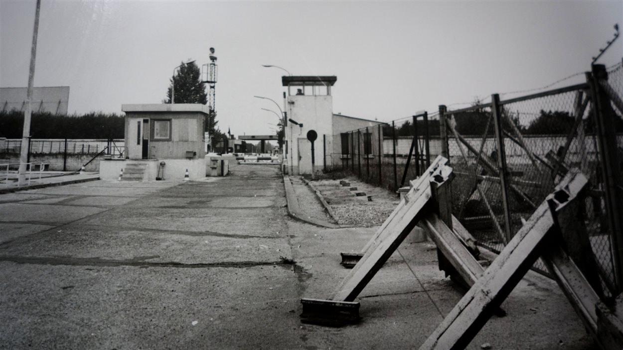 Le poste-frontière de Schönefeld