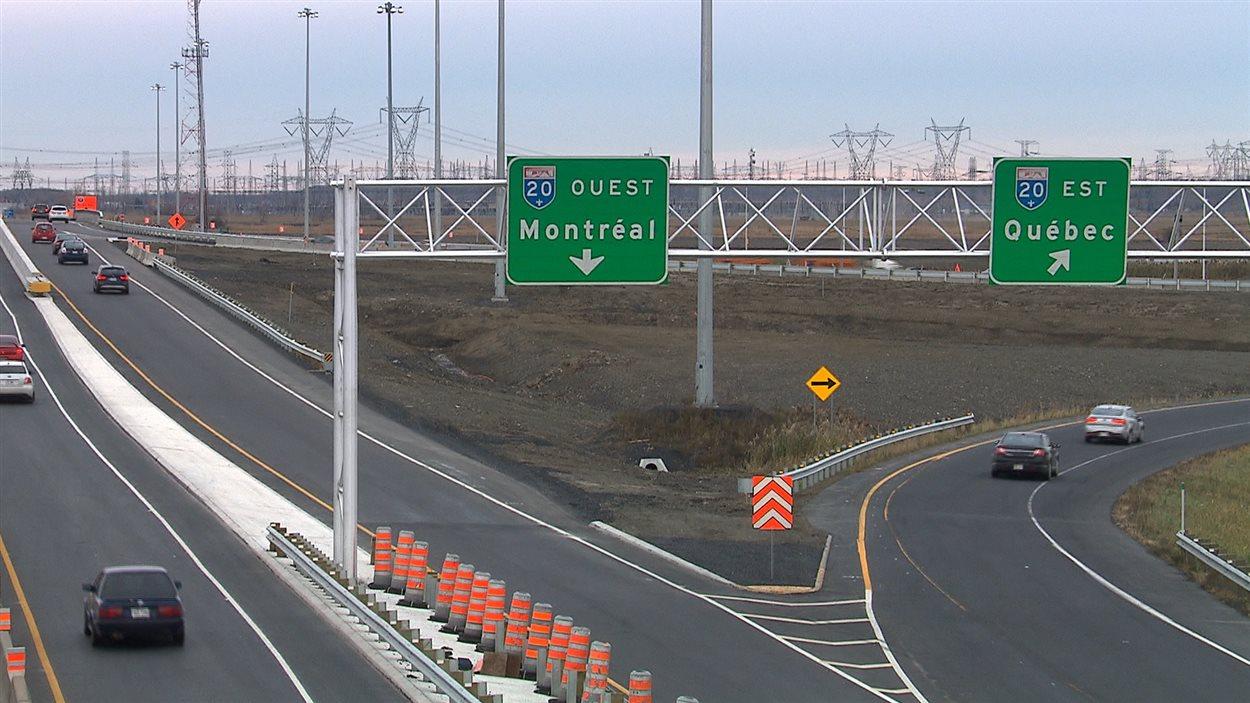 Les autoroutes 30 et 20 sont rouvertes à la circulation   Radio-Canada.ca