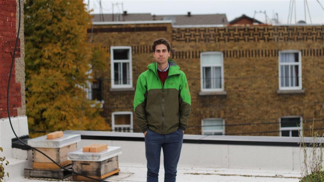 Alexandre McLean, cofondateur d'Alvéole.