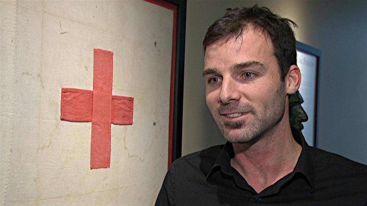 Luc Alary, un résident de l'Outaouais, a travaillé pendant deux semaines pour la Croix-Rouge au Sierra Leone.