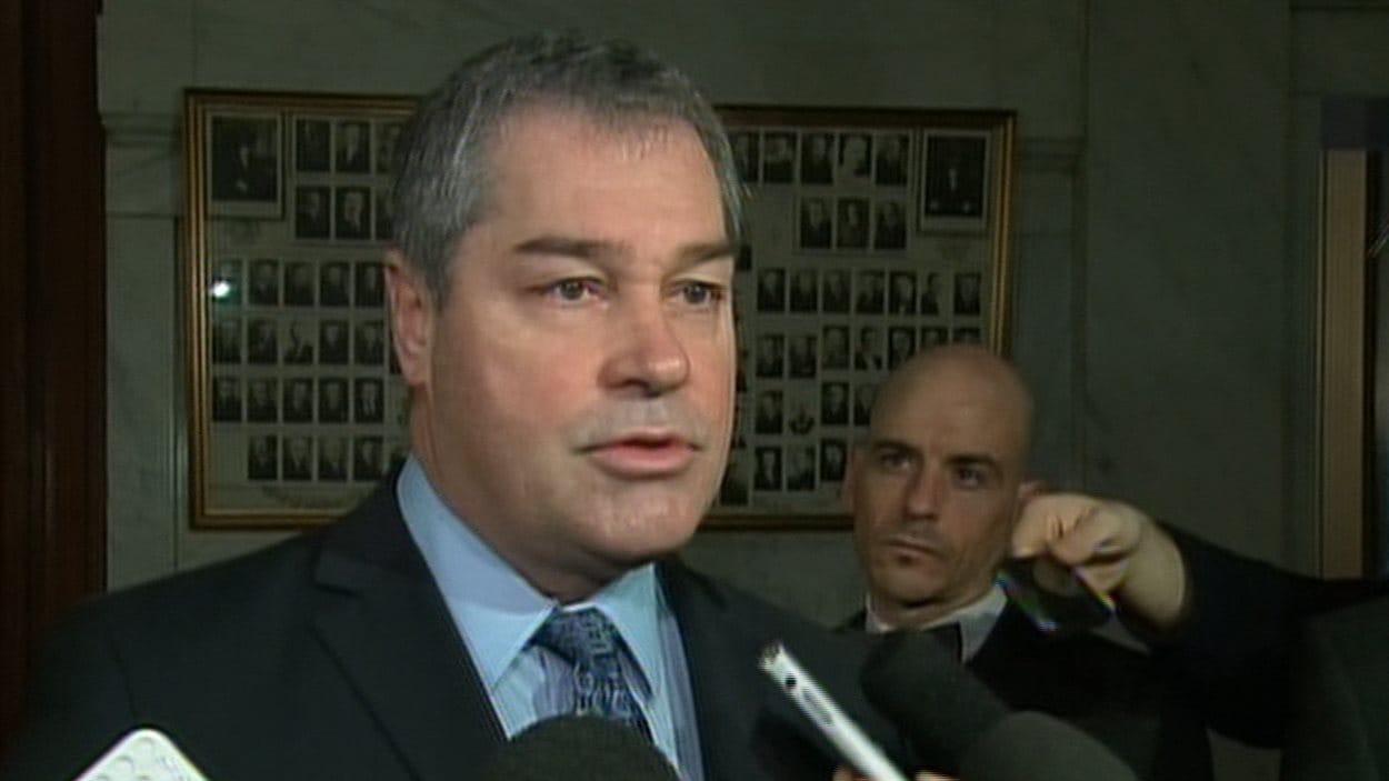 Le ministre de l'Éducation du Québec, Yves Bolduc