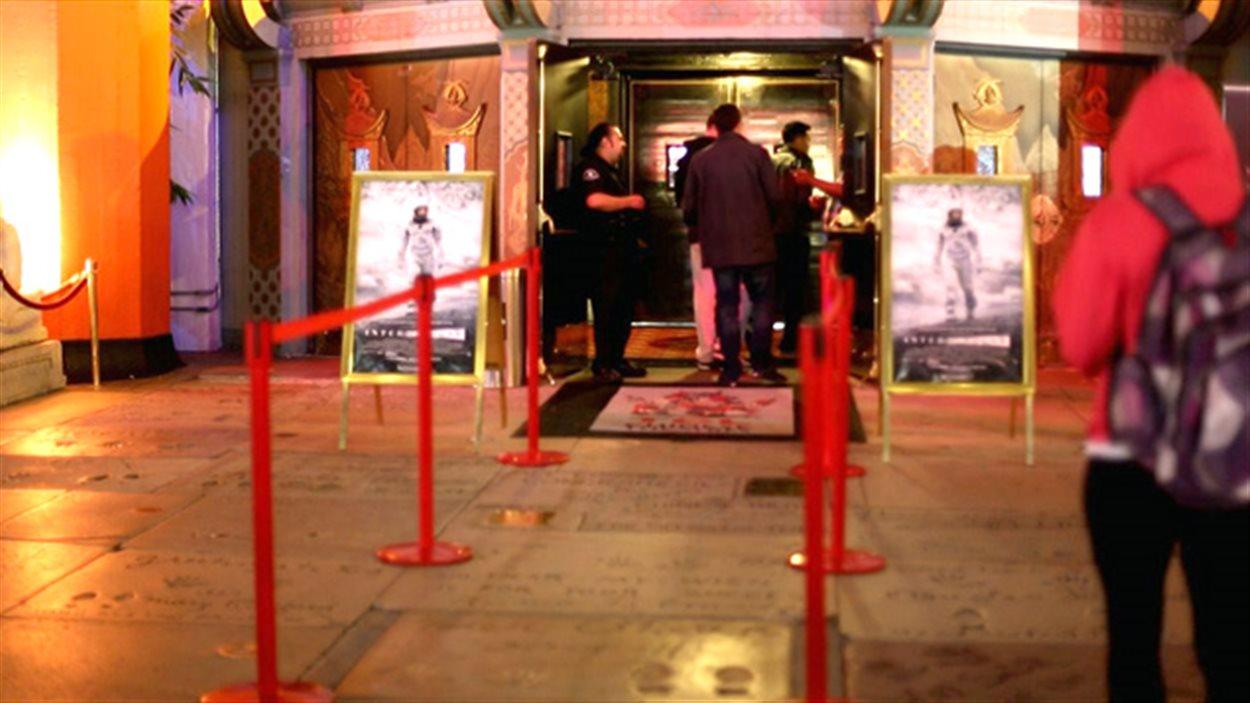 L'entrée du Chinese Theatre, à Hollywood