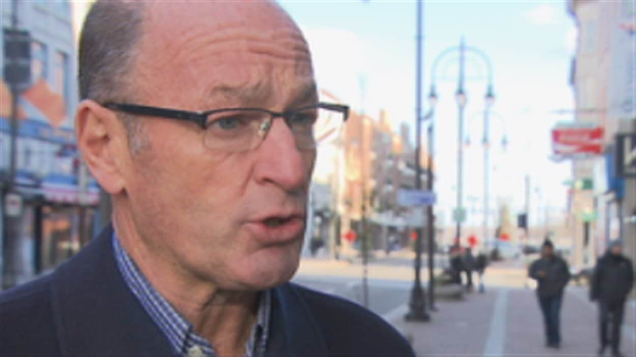 Yves Lévesque, maire de Trois-Rivières
