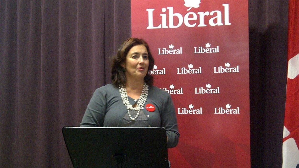 Claude Thibault, candidate du PLC, dans la circonscription d'Abitibi-Témiscamingue.