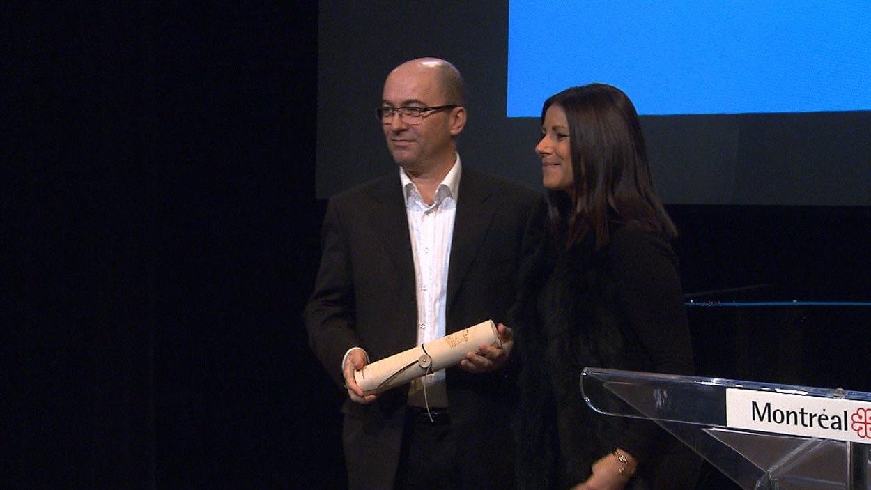 Michael Delisle, lauréat du Grand Prix du livre de Montréal