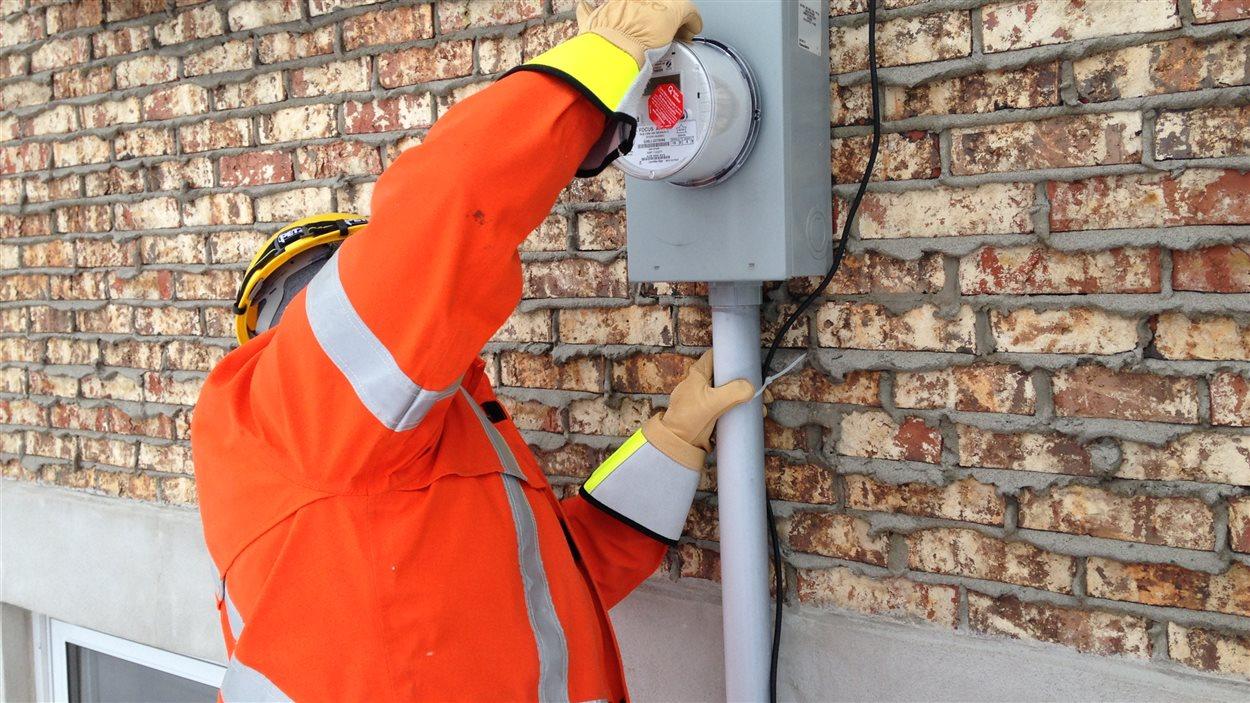 Installation d'un compteur intelligent