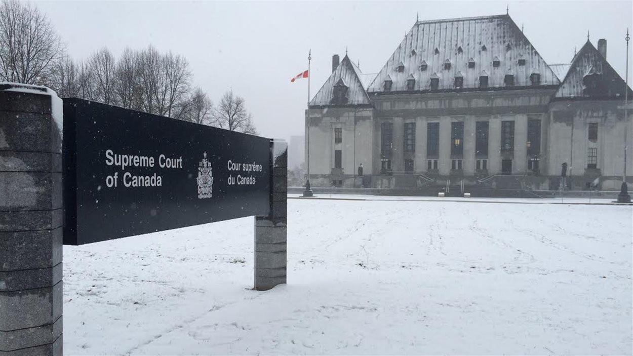 L'édifice de la Cour suprême du Canada, à Ottawa.