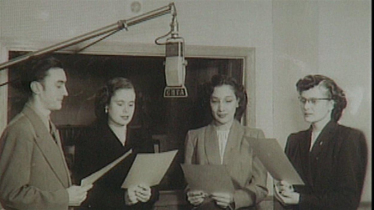 Un enregistrement au début des années 50