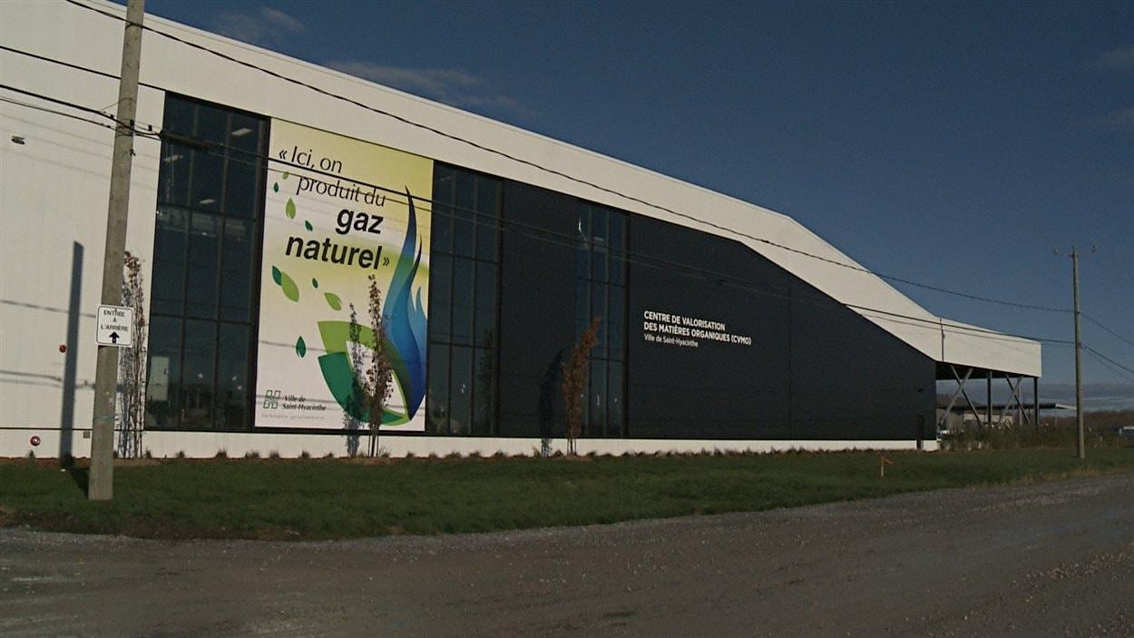 Saint-Hyacinthe a inauguré son nouveau Centre de valorisation des matières organiques, lundi.