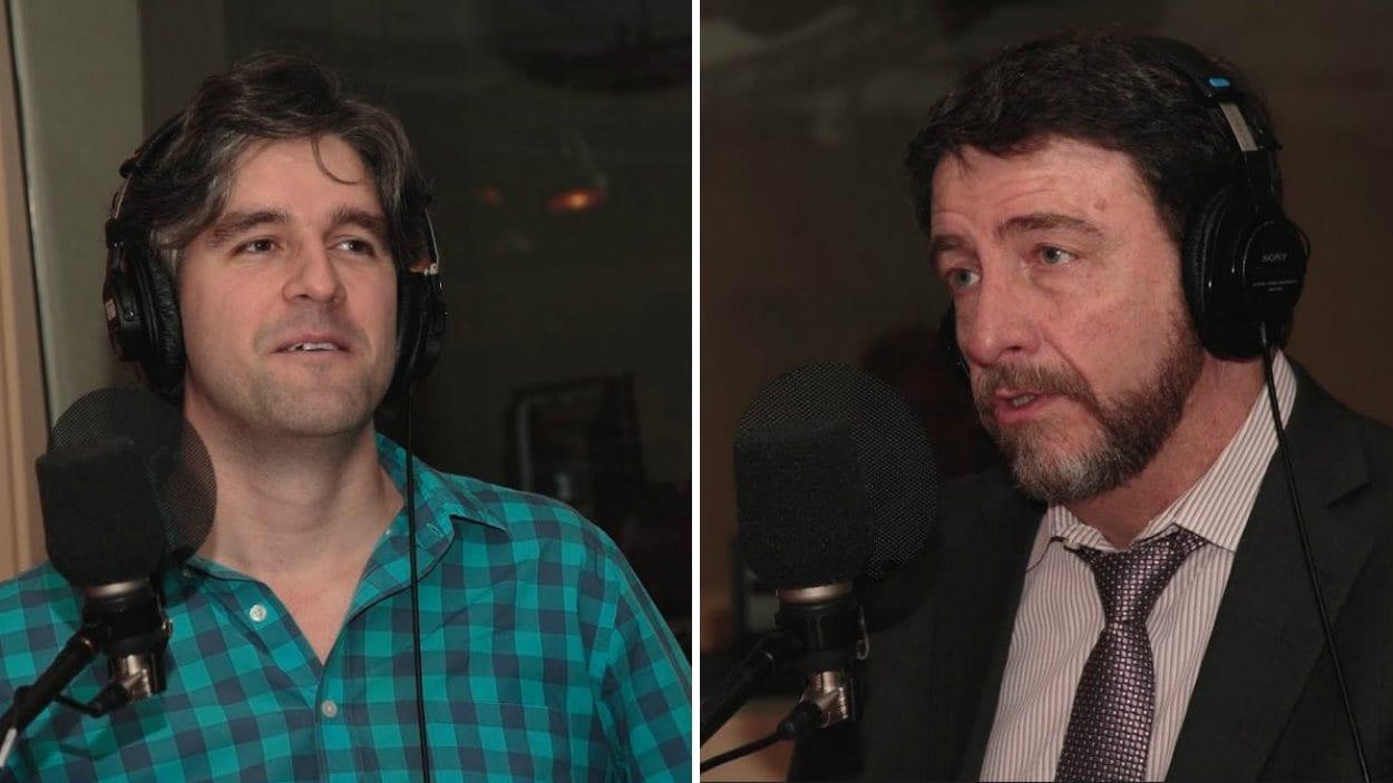 Guillaume St-Onge et Guy D'Aoust