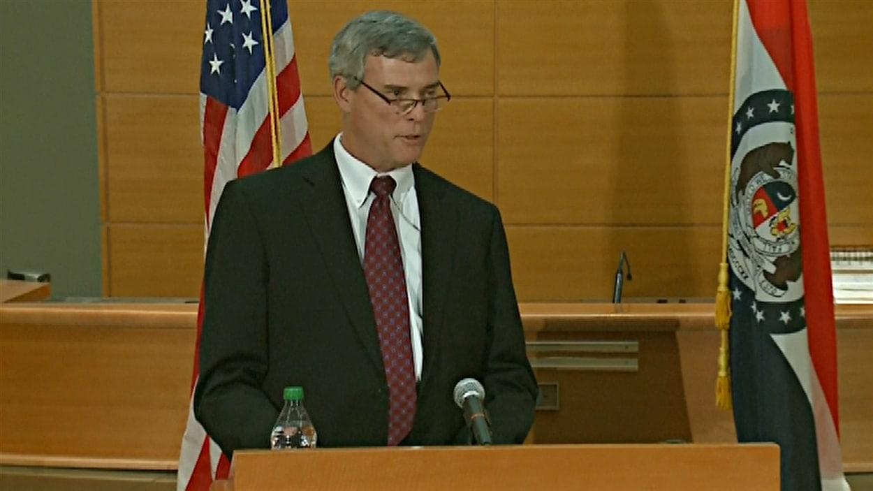 Le procureur Robert McCulloch