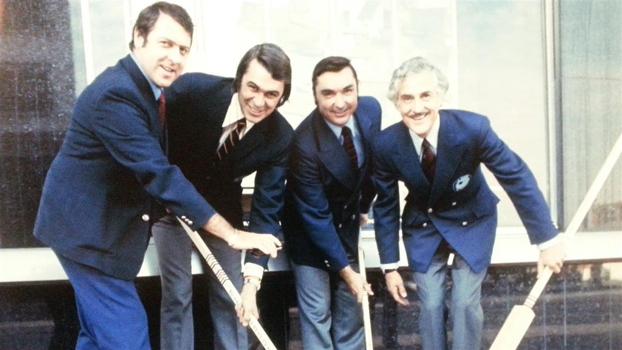 Gilles Tremblay à l'époque où il portait l'uniforme du Canadien