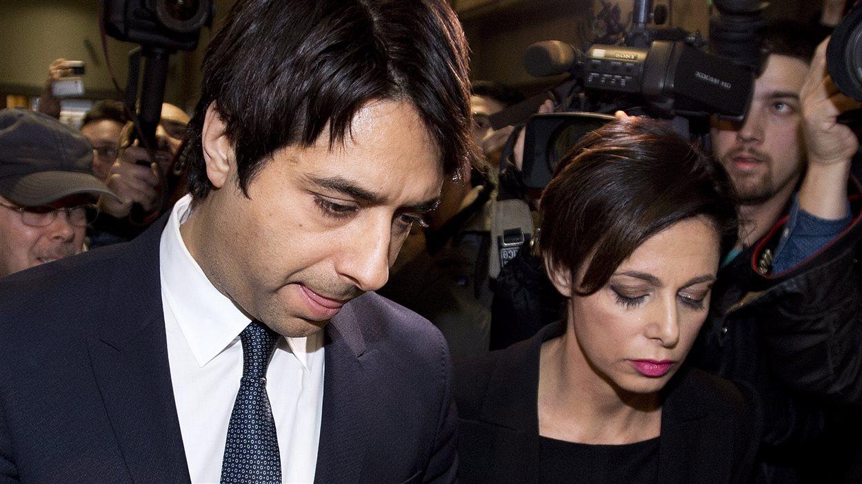 Jian Ghomeshi en compagnie de son avocate Marie Henein